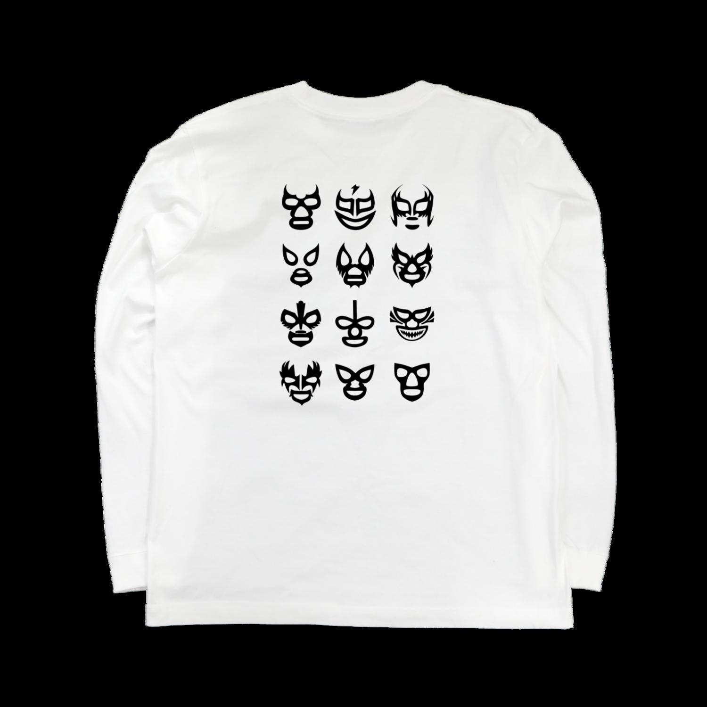 ロングTシャツ(バックプリント)