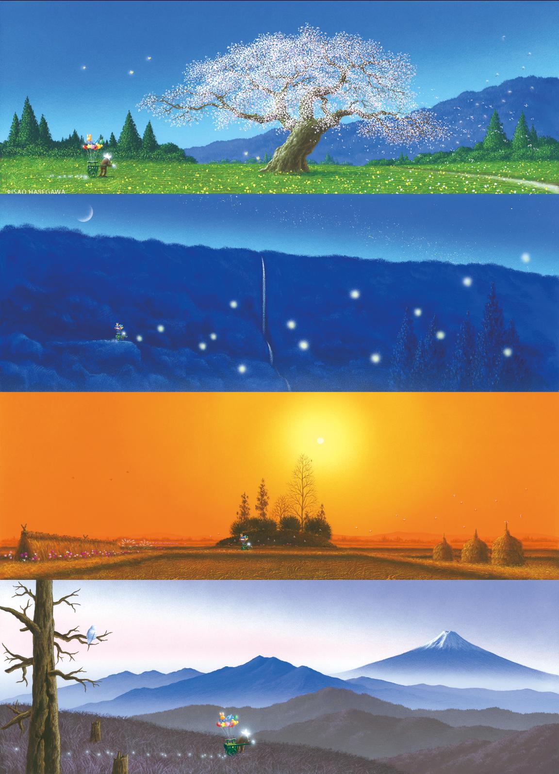 日本の四季の輝き〜春夏秋冬〜