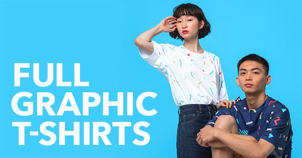 SUZURIのフルグラフィックTシャツ