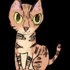 猫のクーちゃん ( ERIMO_WKS )