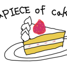 a PIECE of cake ( aPIECEofcake )