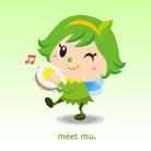 緑の妖精ミートムー ( meetmu )