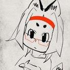 目隠れ狐ฅ^•ﻌ•^ฅ ( mekakure_fox )