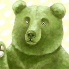 ずんだ餅/冬眠中の熊@シモニタずんだ熊 ( zunda_kuma )