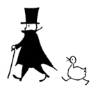 紳士とアヒル ( yumi_duck_gentleman )