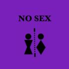 NO SEX ( purple_pinkmet )