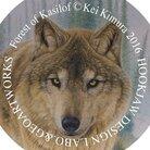 アラスカ野生動物画家きむらけい ( bluewolf_alaska )
