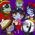 ゾンビちゃんズの別荘 ( worldquartet )