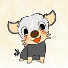 小さな犬のルー ( louyork )