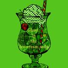 Ghost in the ice  cream soda. ( tomco )