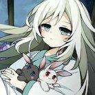 黒兎と白兎 ( kohaku__youtube )
