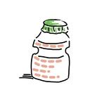 乳酸菌 ( rinjishuunyuu )