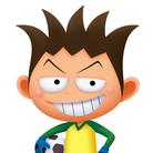 ジュニアサッカーサポーター ( ganchan )