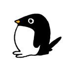 ペンギンと文字のおみせ ( 659kurofuku )