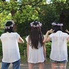 挙式後も飾れる花冠マーメイドローズ ( mermaidrose_fujii )