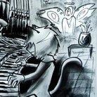 ピアノコーヒー@gif ( gifkoma )