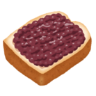 トースト(粒あん) ( OGR_toast )