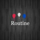 トリコロールカラー ( Routine )