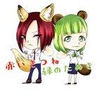 赤いきつねと緑のたぬき(赤緑) ( KUDN_TSOBA )