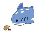 サメとハリネズミ ( _ramune_3 )