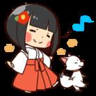 巫女さんコンさん ( Mikosan-Konsan )