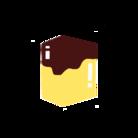 四角いプリン。 ( square_pudding )