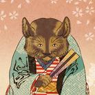 山歌和樂陽 浮世絵 ( yamakawarakuyou )