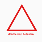ダブルサイズベッドルーム ( DSBEDROOM )