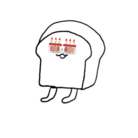歩くパン ( hellokyomu )