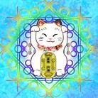 福猫の花壇 ( Ruchia )