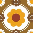 70s modern pattern ( showa )