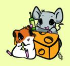 鼠兎はむ ( hamsters )