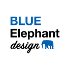 BLUE Elephant design ( BLUE_Elephant_design )