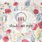 Asahi art style