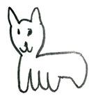 長い猫 ( nagaineko )
