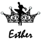 Ballet tiara shop Esther ( Esther )