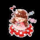 キャンディーおしのちゃんグッズ ( yoshinomariko )