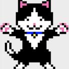 ドット絵猫まみれ ( nekomamireikka )