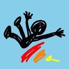 一人の少年が虹をすべり落ちる ( nijisuberi )