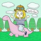 恐竜の恐くない生活 公式 ( yasashiijuraki )