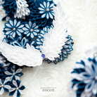Japanese Fabric Flower cocon ( JFFcocon )