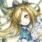 ちたこっぺ🕊プチ個展Littleアリスと瑠璃色ブーケ💐7月の猫と王子 ( chita_coppe )