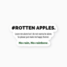 #Rotten apples. ( rotten_apples )