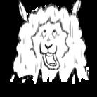 自らの毛を自在に操る羊。 ( flying_hitsuji )