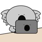 コアラと仲良しのウォンバット ( dot3 )