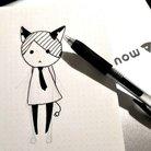 アコースティック猫 ( AcoNeko_o )