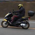 元祖 黒黄のPCX150ライダー スマイル齋藤    【齋藤松一】 ( PCX150_Rider )