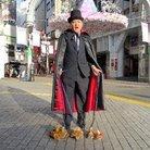 たわしおじさん2号ブラッドケープマント ( BloodCape )