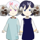 頭部サイド髑髏サンド姉妹ん's SUZURI SHOP ( AneimoN_to_Dinosaur )
