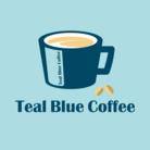 Teal Blue Coffee